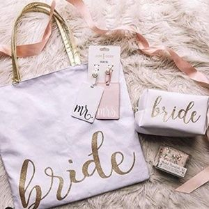 Bags - NEW Bride / Mrs Large Revesible Tote